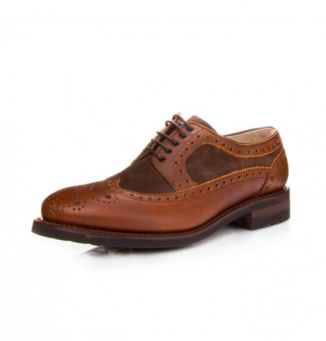 Zapato blucher artesano