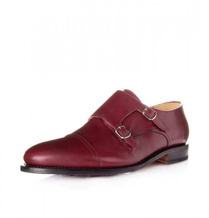 Zapato mocasín hebillas