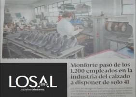 Calzados Losal fabrica histórica de calzado
