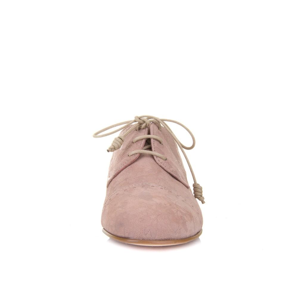 Zapato blucher para mujer