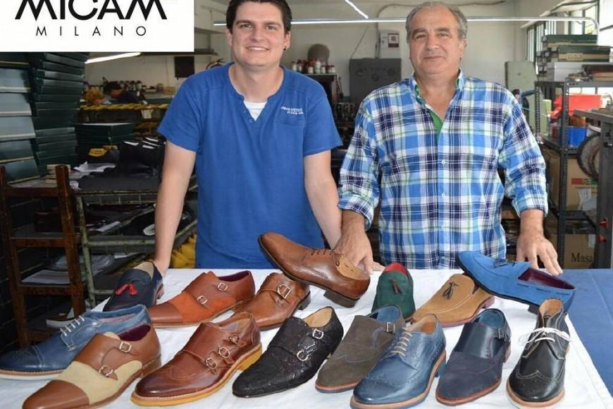 Calzados Losal, una de las 1.300 empresas que participó en la feria de Milán.