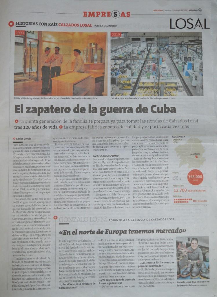 El zapatero de la guerra de Cuba